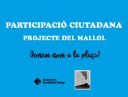 Projecte del Mallol   Donem nom a la plaça!