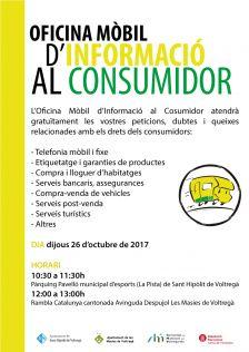 Oficina Mòbil del Consumidor al Voltreganès | Octubre