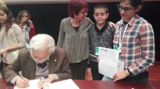 El Consistori Infantil del Voltreganès participa en un simposi Internacional