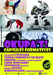 cartell CAPSULES FORMATIVES 2015