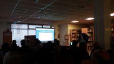 Sessió de presentació de les obres de l'edifici del Mallol