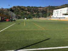 Manteniment gespa Camp de futbol SHV