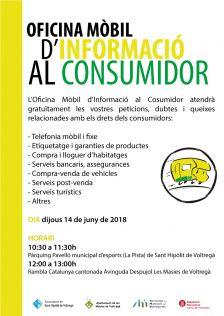 Oficina Mòbil d'informació al Consumidor | Juny 2018